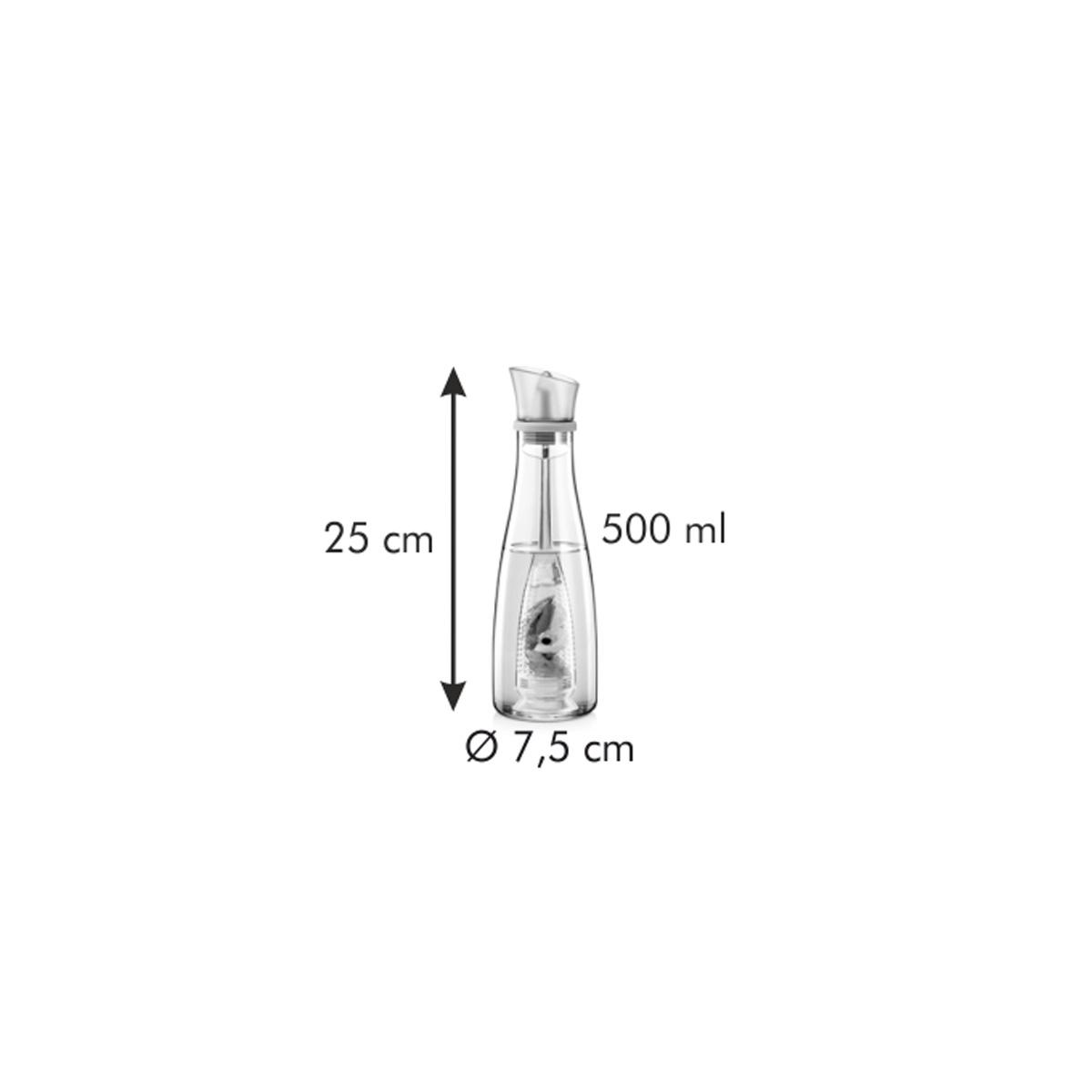 Nádoba na olej VITAMINO 500 ml, s vyluhovacím sítkem