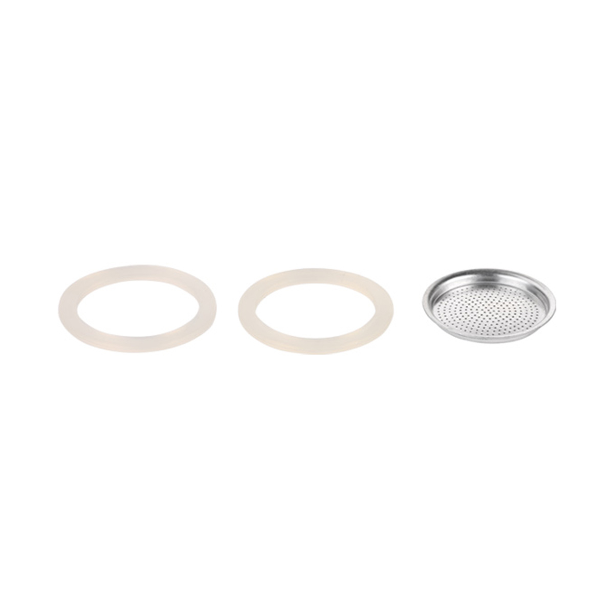Silikonové těsnění 2 ks a filtr PALOMA 3 šálky