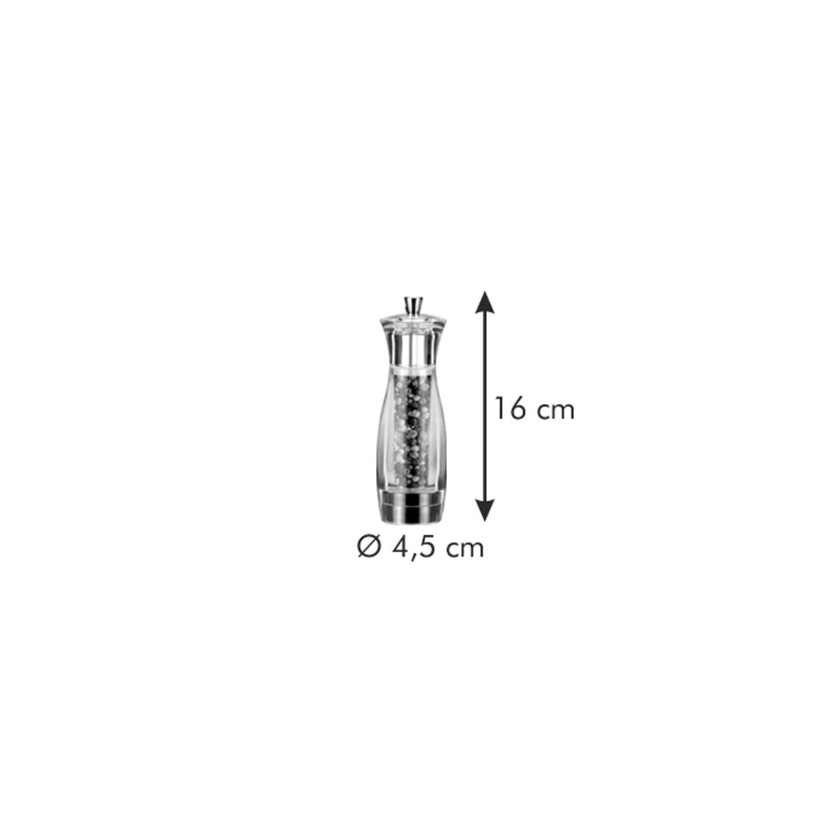 Mlýnek na pepř VIRGO 16 cm
