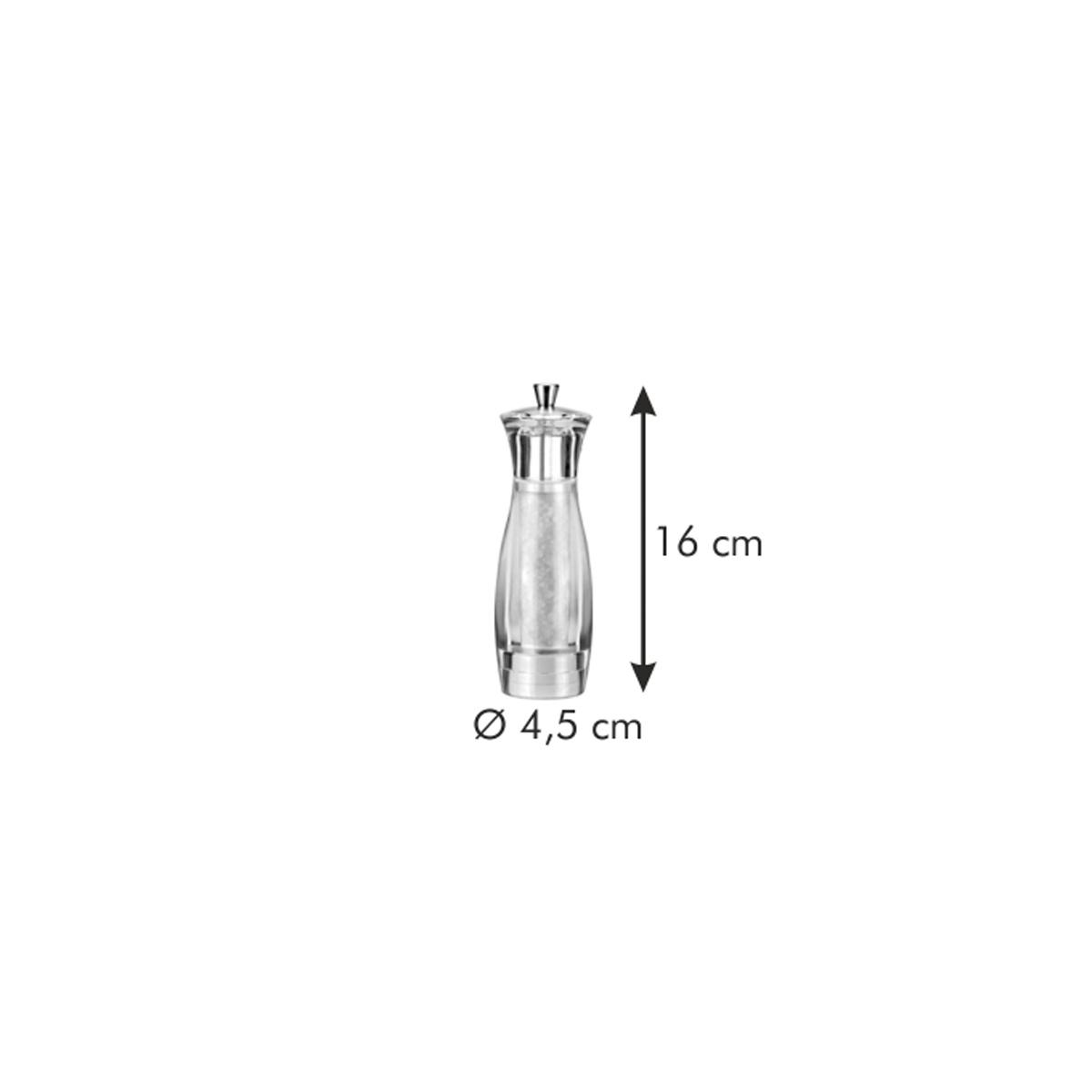 Mlýnek na sůl VIRGO 16 cm