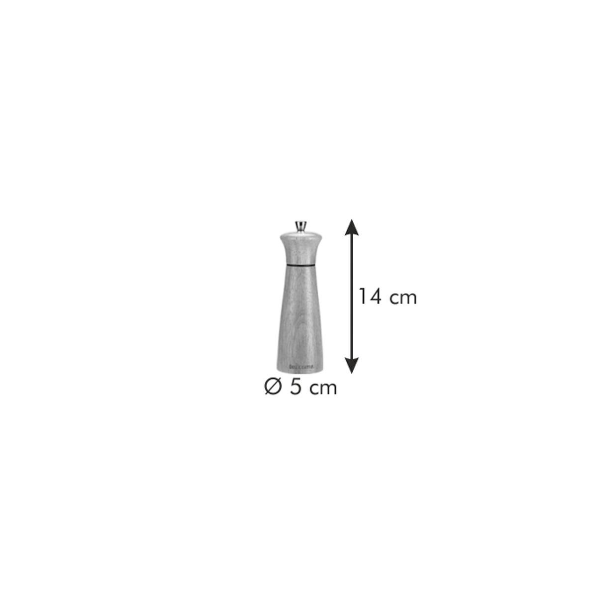 Mlýnek na pepř/sůl VIRGO WOOD 14 cm