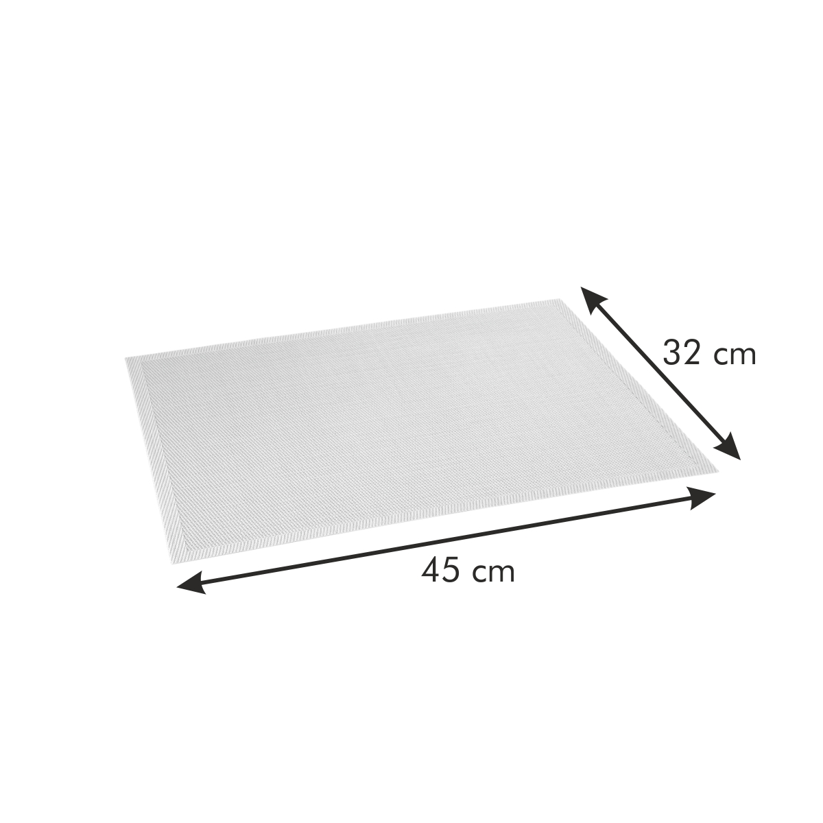 Prostírání FLAIR STYLE 45x32 cm, azurová