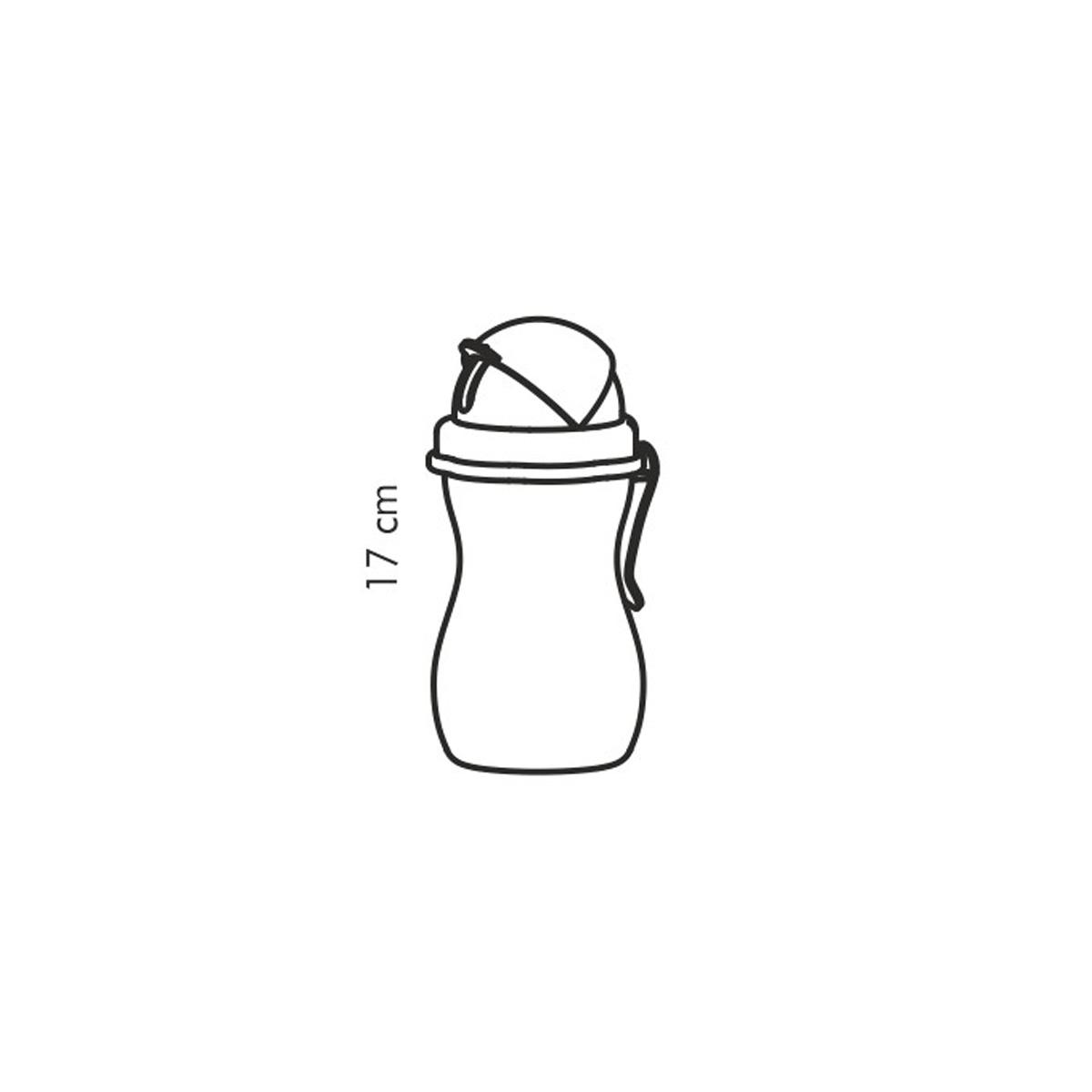 Dětská láhev s brčkem BAMBINI 300 ml