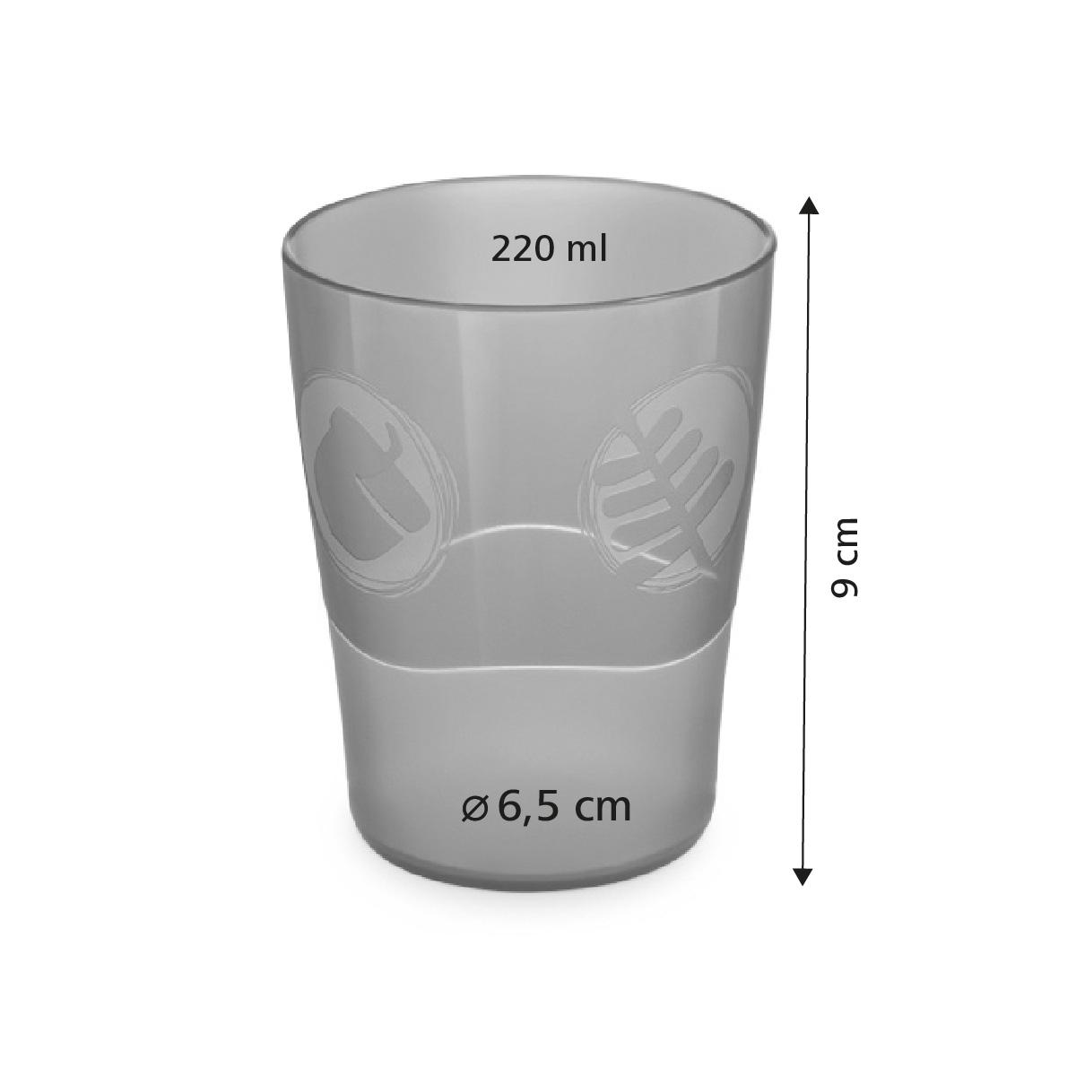Pohárky DINO 220 ml, 4 ks