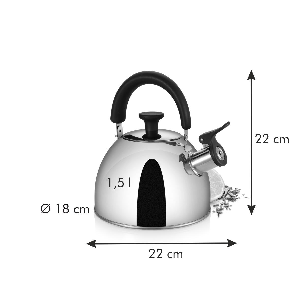 Čajová konvice PERFECTA 1.5 l