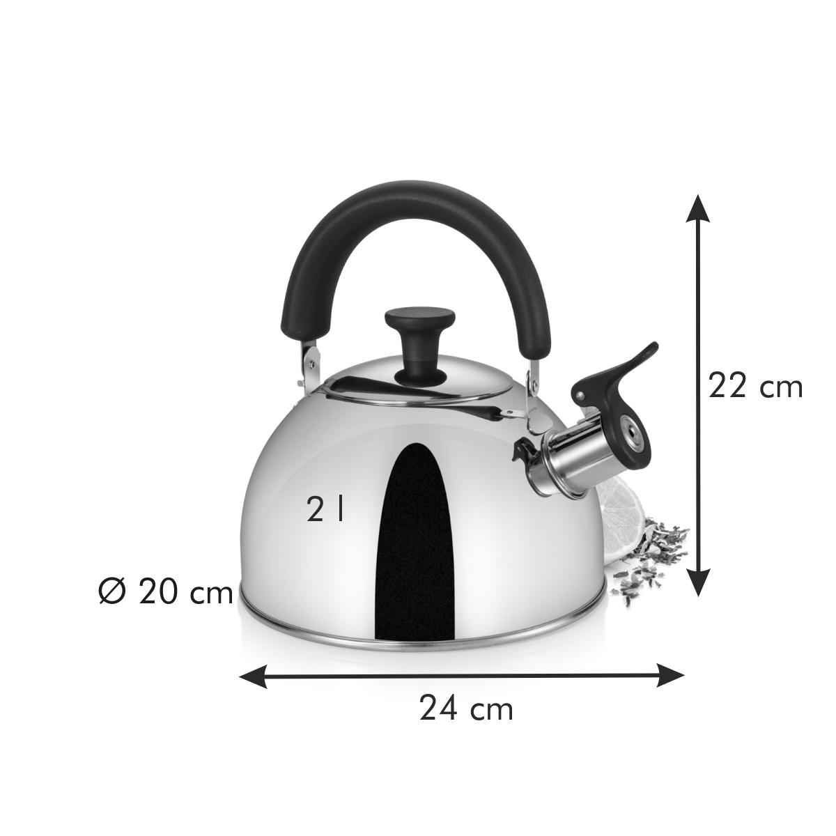 Čajová konvice PERFECTA 2.0 l