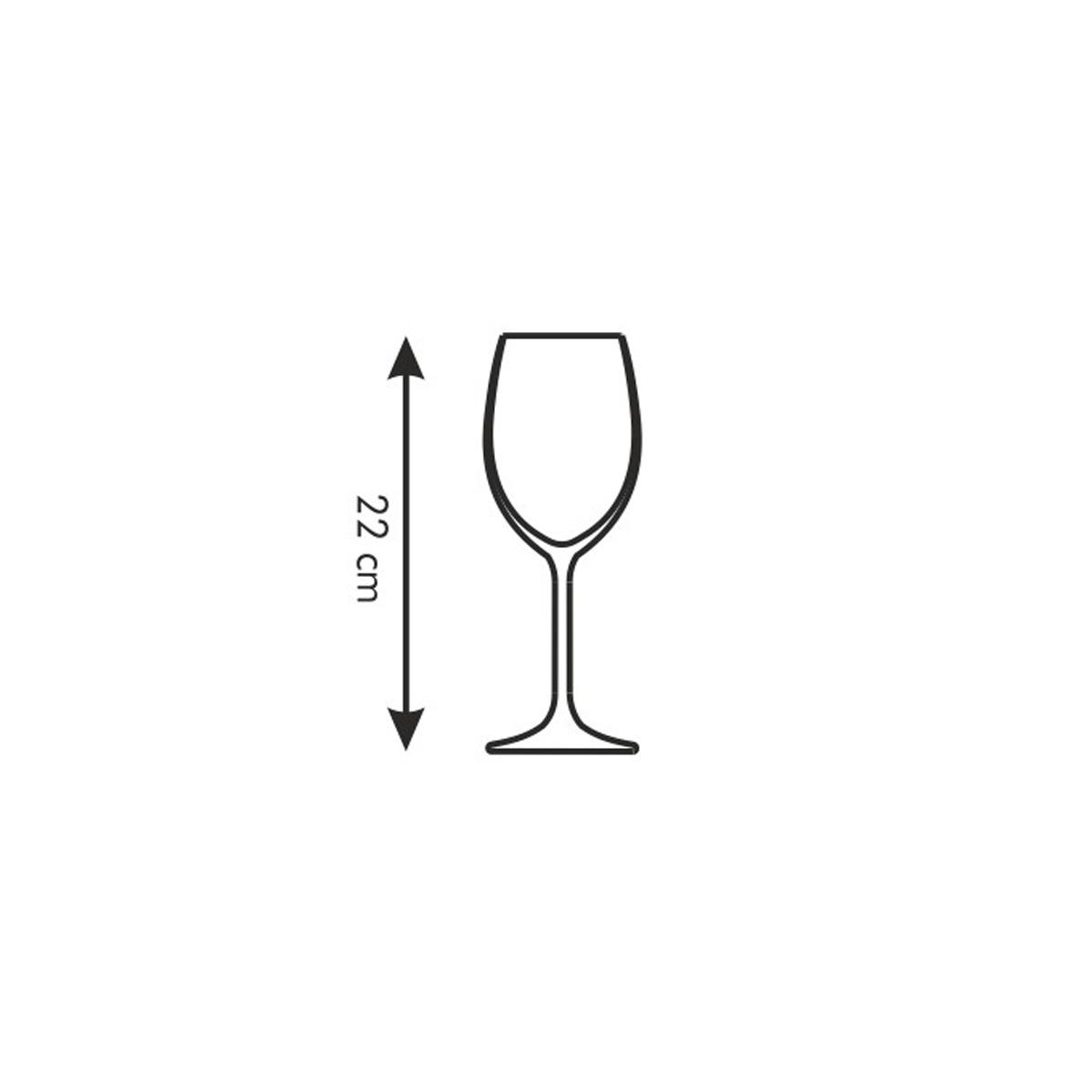 Sklenice na bílé víno SOMMELIER 340 ml, 6 ks