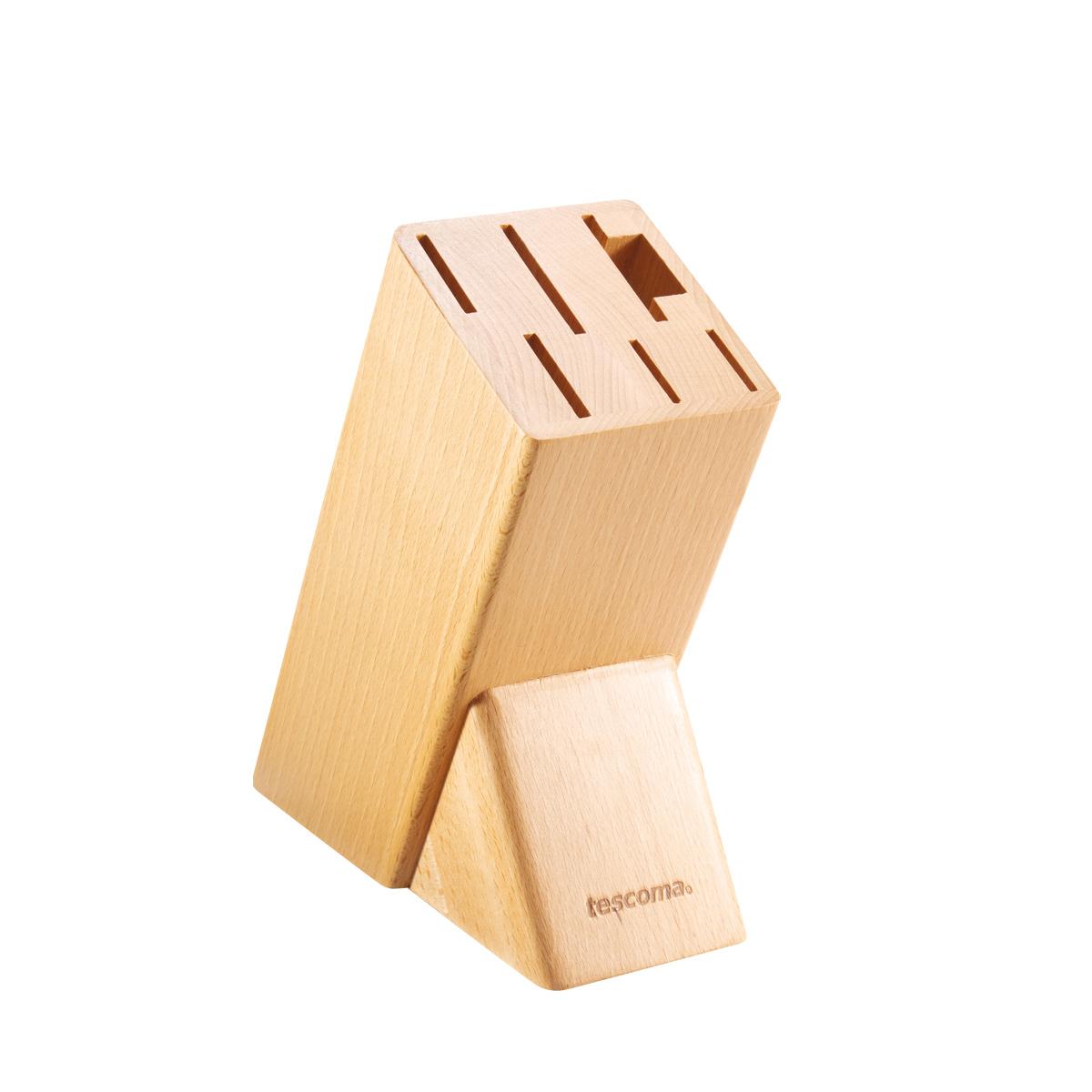 Blok NOBLESSE pro 6 nožů, nůžky na drůbež / ocílku