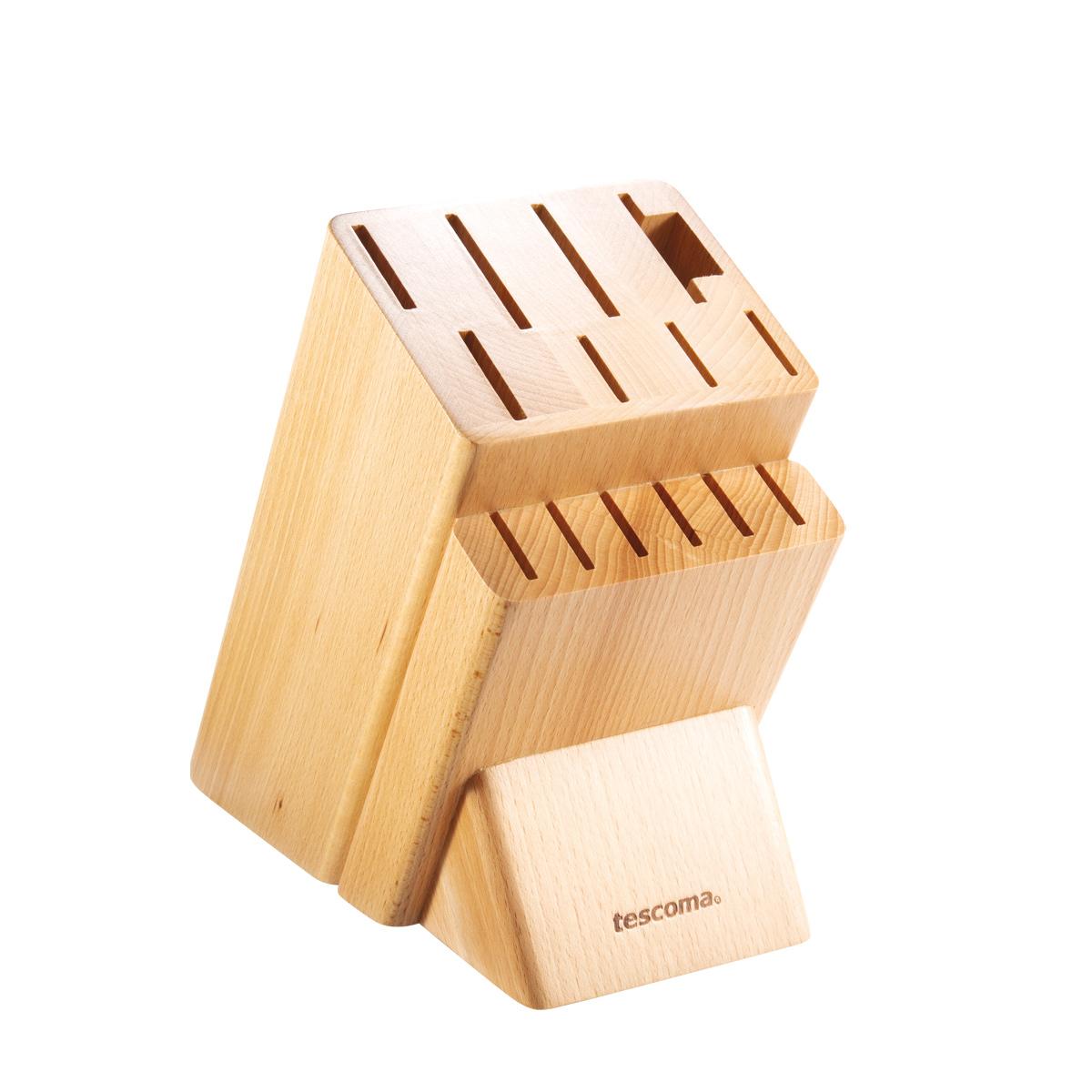 Blok NOBLESSE pro 14 nožů, nůžky na drůbež / ocílku