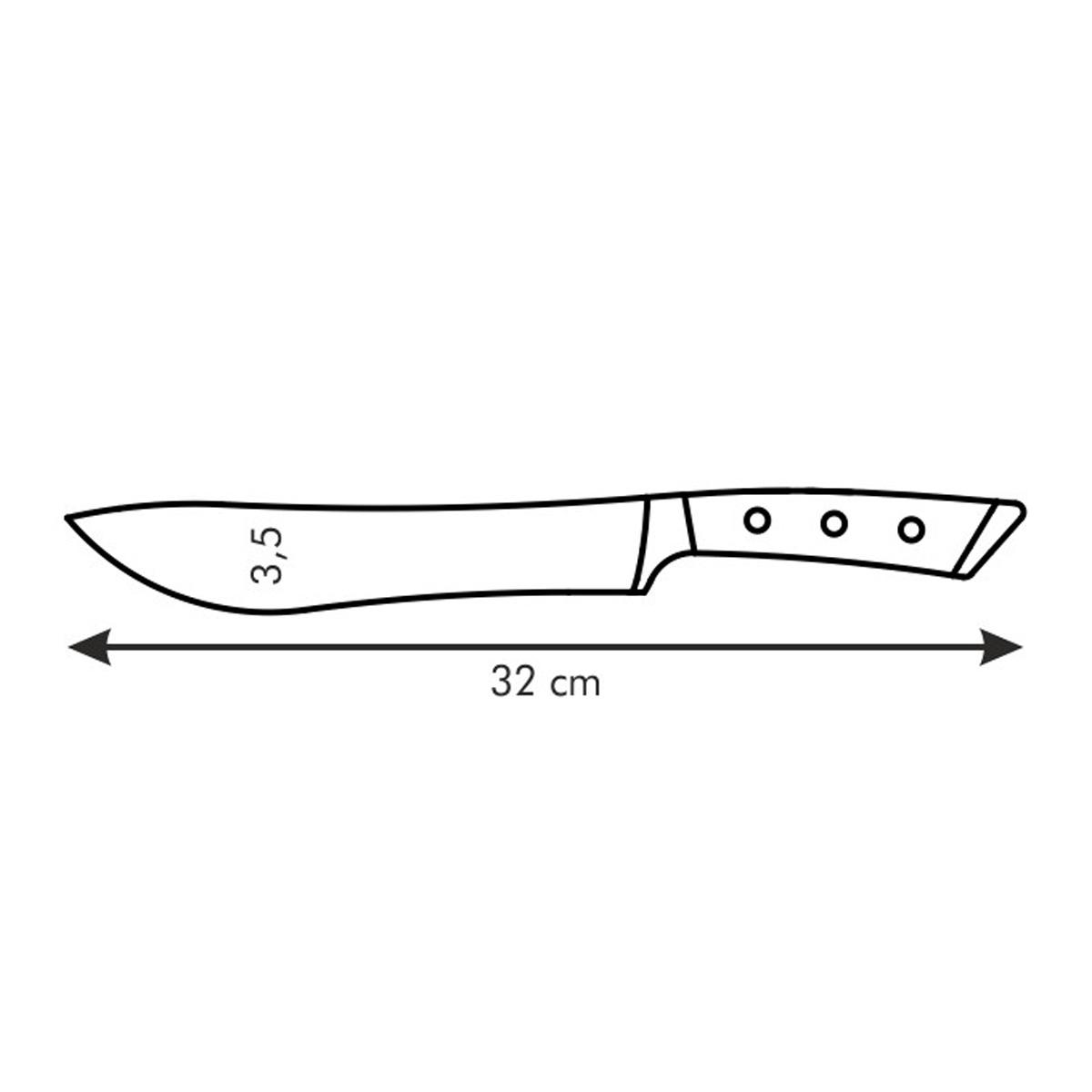 Nůž řeznický AZZA 19 cm