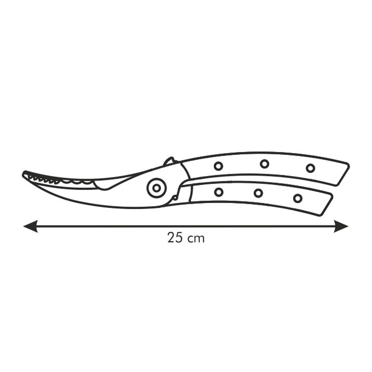 Nůžky na drůbež AZZA
