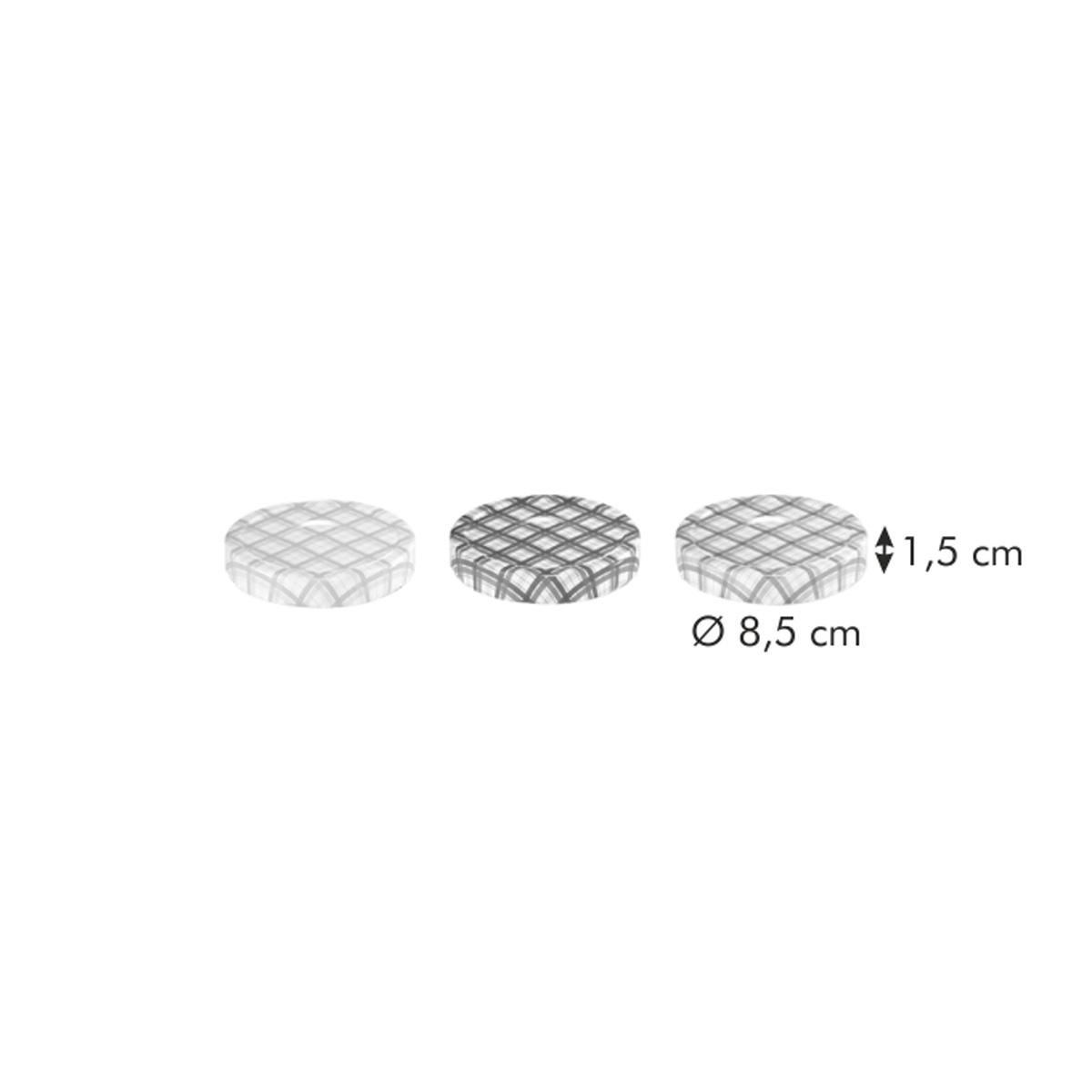 Víčka pro sklenice TESCOMA DELLA CASA 400 a 700 ml, 3 ks