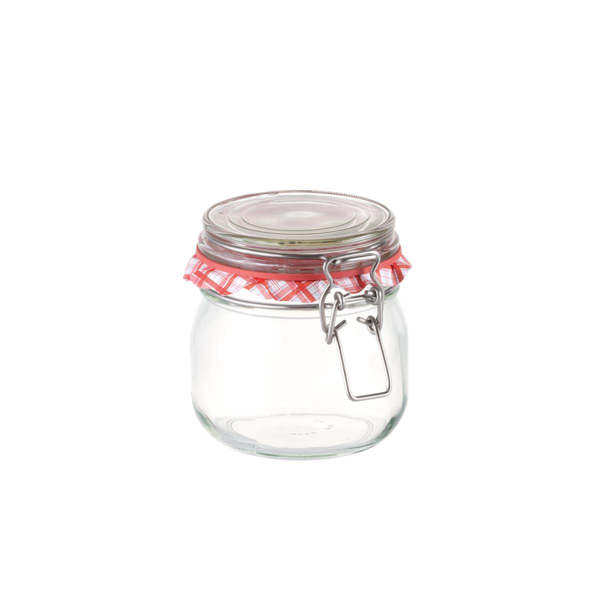 Zavařovací sklenice s klipem TESCOMA DELLA CASA 600 ml