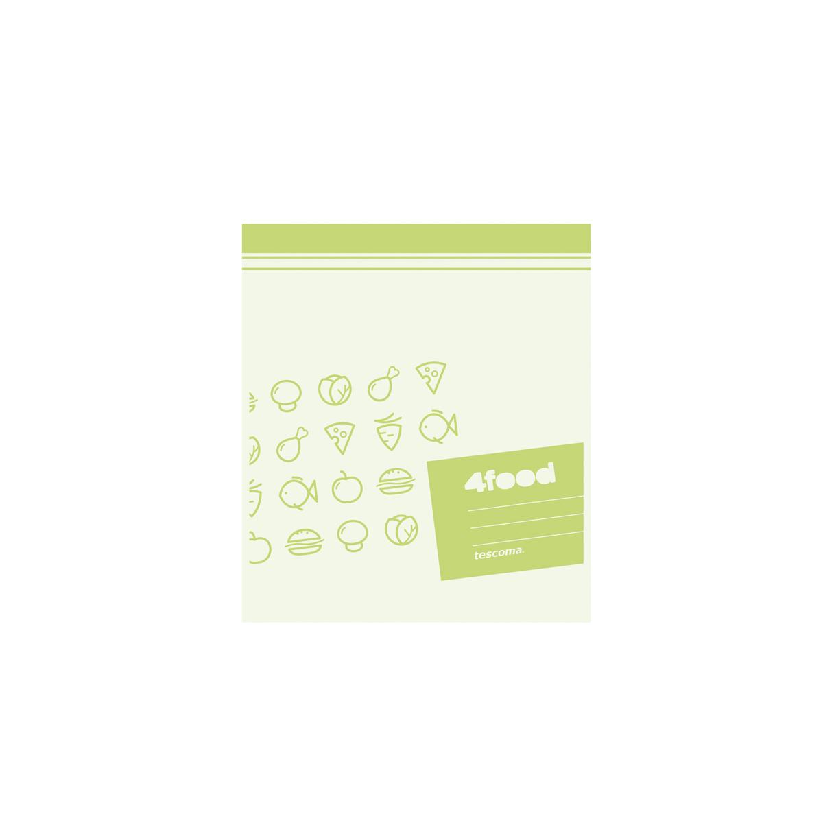 Sáčky na potraviny 4FOOD 27x23 cm, 15 ks