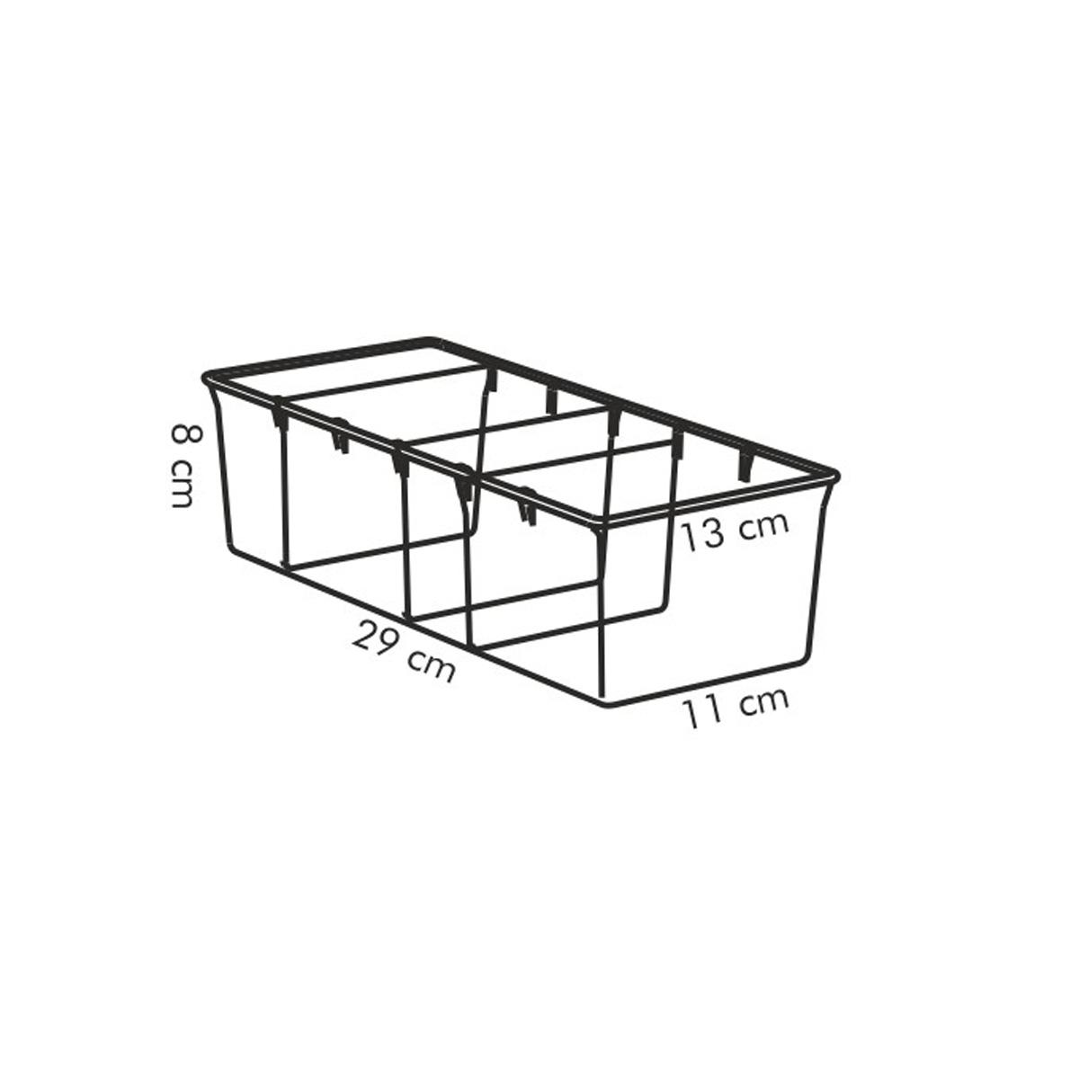 Zásobník na sáčky s kořením 4FOOD 29x13 cm