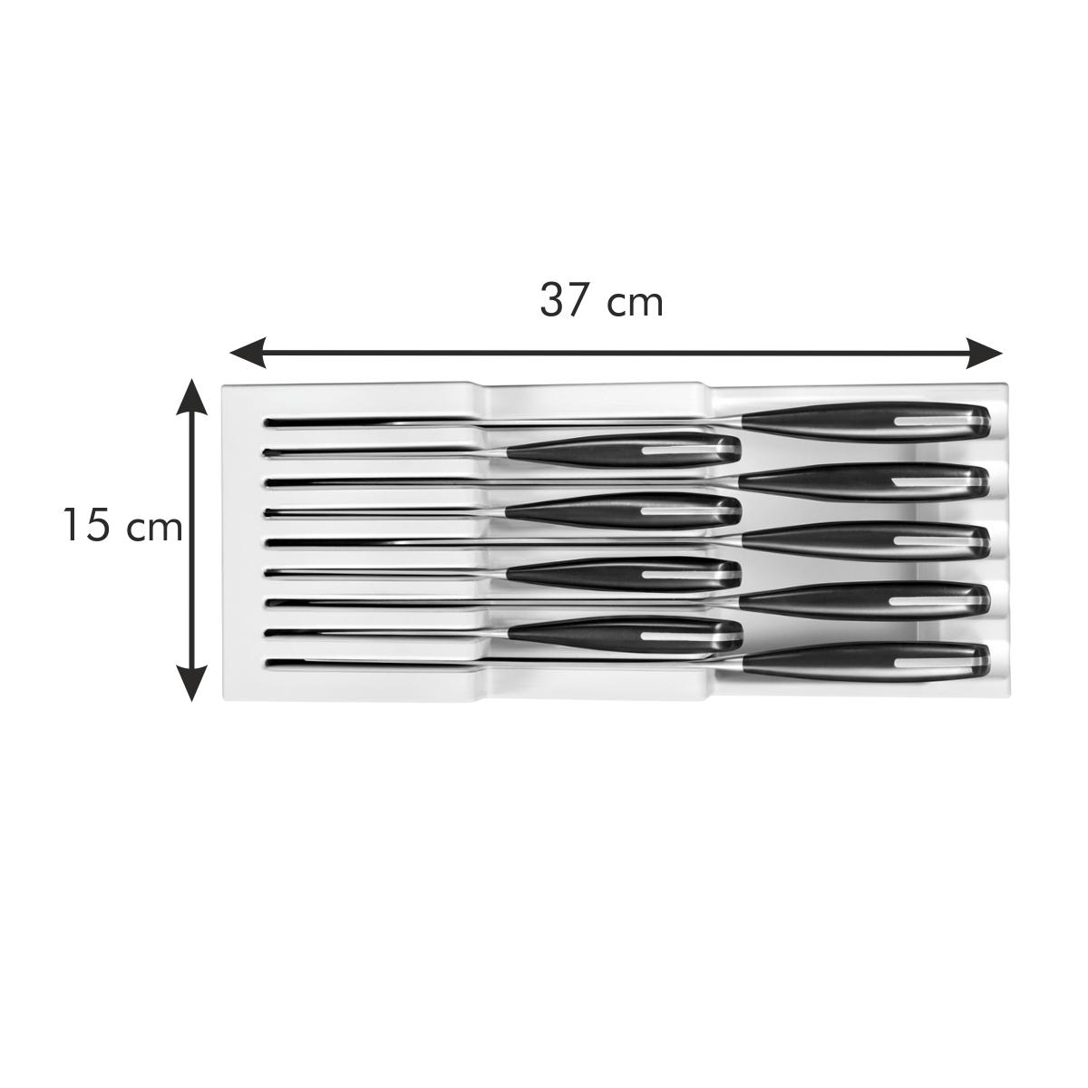 Zásobník na nože FlexiSPACE 370 x 148 mm, pro 9 nožů