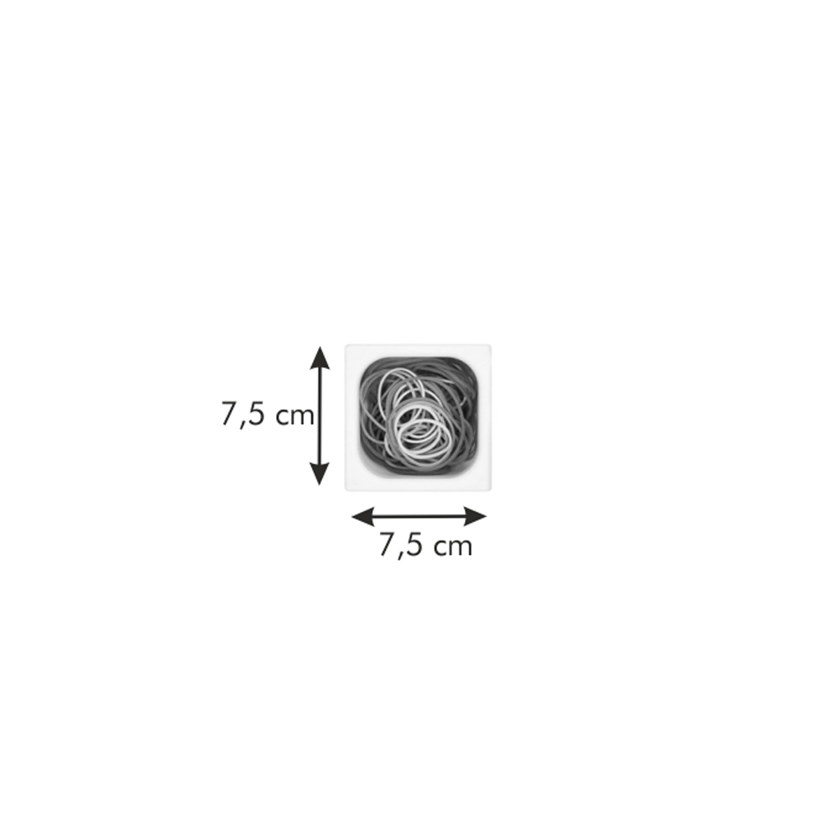 Zásobník FlexiSPACE 74x74 mm