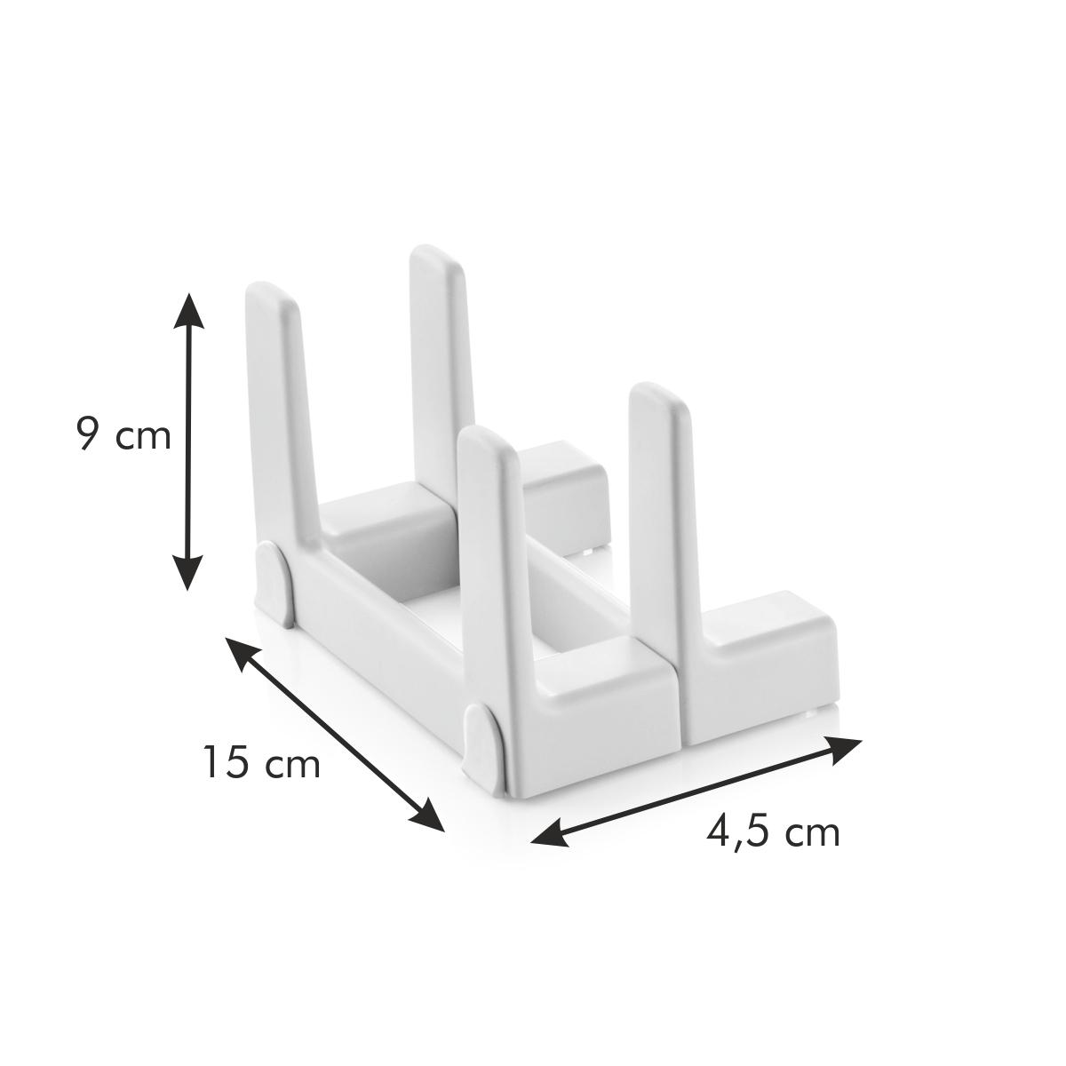 Prodloužení zásobníku na poklice FlexiSPACE 46 x 148 mm, 2 ks