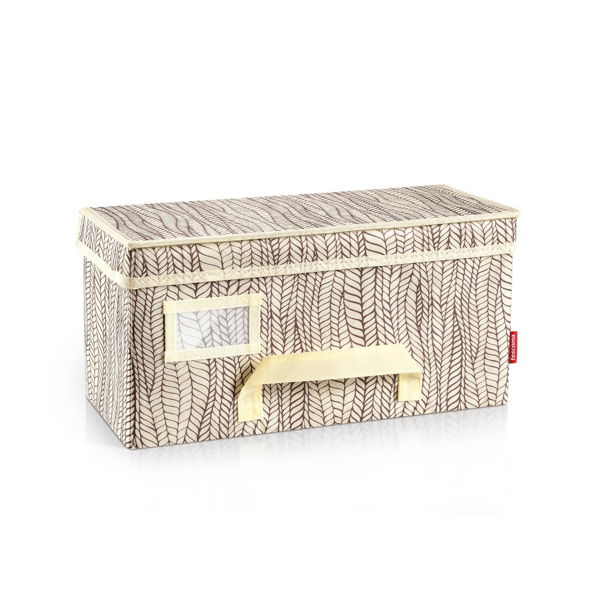Krabice na oděvy FANCY HOME 40 x 18 x 20 cm