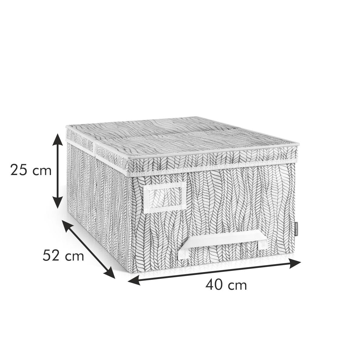 Krabice na oděvy FANCY HOME 40 x 52 x 25 cm