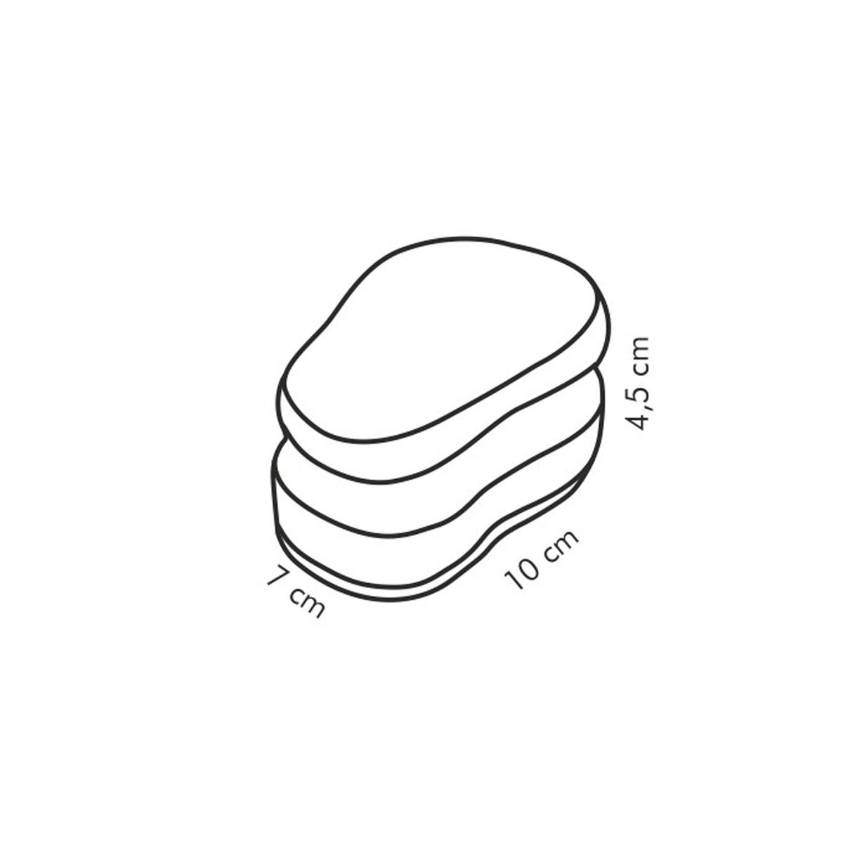Kuchyňské houbičky CLEAN KIT, 3 ks, na jemné povrchy