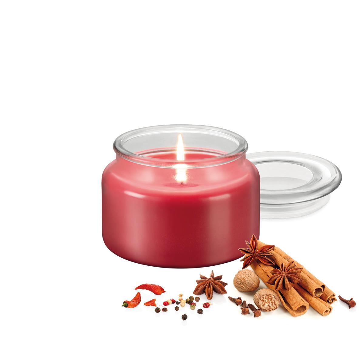 Vonná svíčka FANCY HOME 200 g, Exotické koření