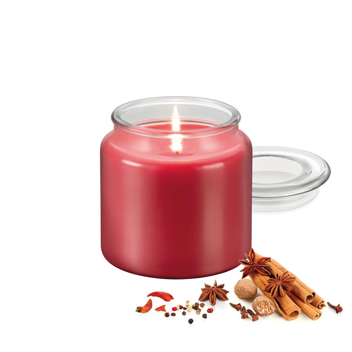 Vonná svíčka FANCY HOME 410 g, Exotické koření