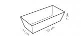 Forma bochníková DELÍCIA 31x11 cm