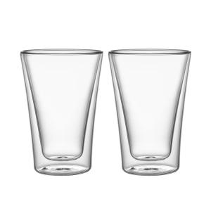 myDRINK Duplafalú pohár, 330 ml, 2 db