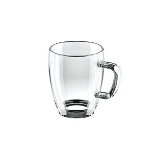 CREMA üveg bögre 400 ml