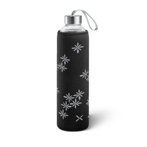 Skleněná láhev s termonávlekem myDRINK 0,7 l