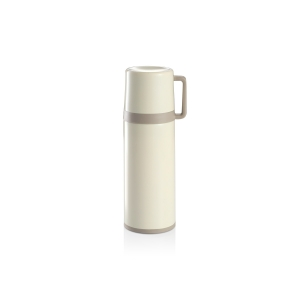 Vacuum flask with cup CONSTANT CREAM 0.3 l, stainless steel