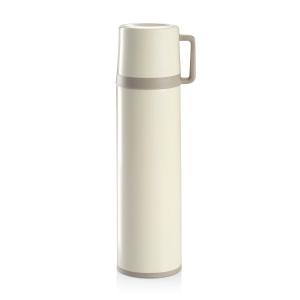 Termos c/ chávena CONSTANT CREAM 1.0 L, aço inoxidável