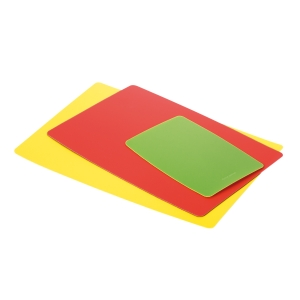 Flexible chopping board PRESTO, set of 3