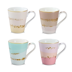 Mug myCOFFEE, 4 pcs, Romance