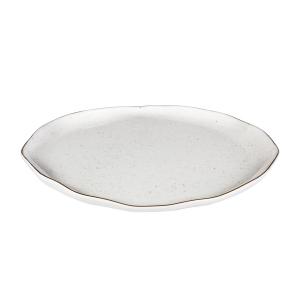 Plato llano CHARMANT ø 26 cm, blanco
