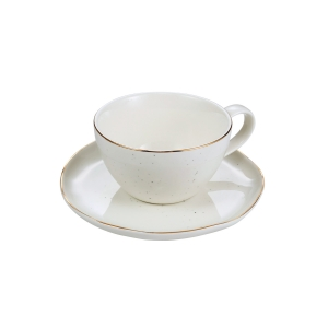 Chávena de café CHARMANT, c/ pires