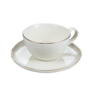 Chávena de chá CHARMANT, c/ pires