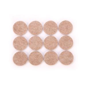 Samolepicí podložky pod nábytek PRESTO ø 25 mm, 24 ks