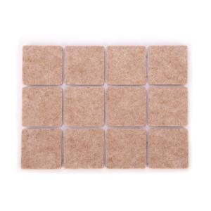 Protetores adesivos para móveis PRESTO 30 x 30 mm, 24 pcs
