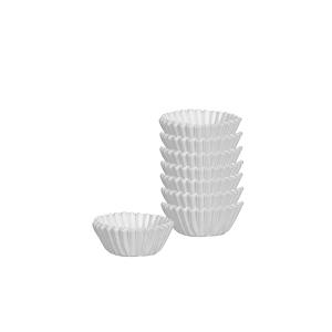 Cukrářské mini košíčky  DELÍCIA ø 4.0 cm, 200 ks, bílé