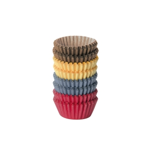 Mini papilotki DELÍCIA ø 4 cm, 200 szt., kolorowe