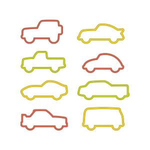 Cortapastas coches DELÍCIA KIDS, 8 pzs