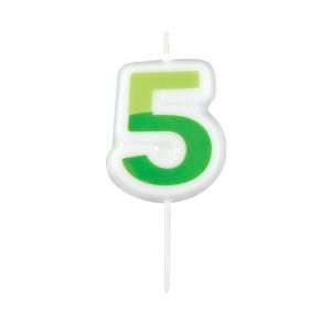 Velas para aniversário DELÍCIA KIDS, cinco
