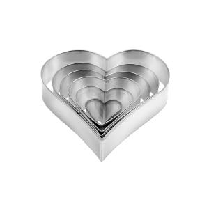 Vykrajovátka srdce DELÍCIA, 6 ks