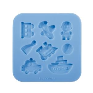 Stampo in silicone per pasta di zucchero DELÍCIA DECO, per bambini