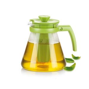 TEO TONE teáskanna 1,25 l, áztató szűrővel