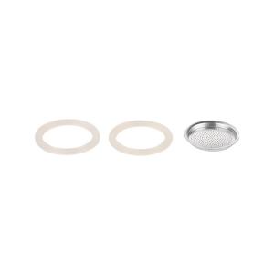 Silikonové těsnění 2 ks a filtr PALOMA 2 šálky