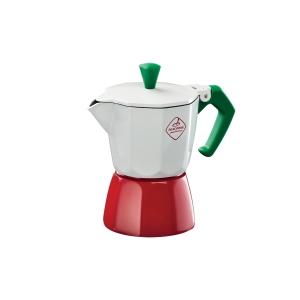 Caffettiera PALOMA Tricolore, 1 tazza