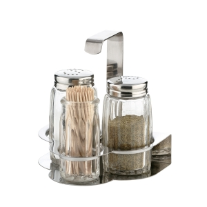 Salt-pepper-toothpicks set CLASSIC